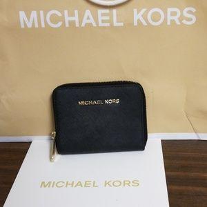 Sale: Michael Kors zip around wallet